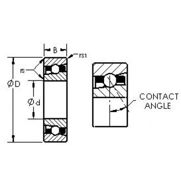 AST H71914AC angular contact ball bearings