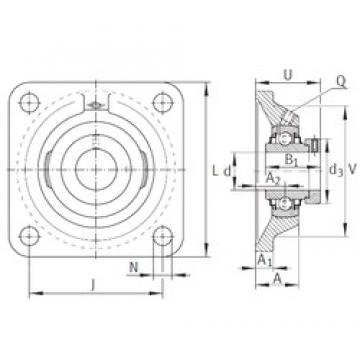INA RCJ1-1/4-206 bearing units