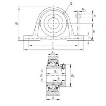 INA RAK1-15/16 bearing units