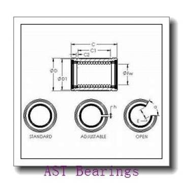 AST H7034AC angular contact ball bearings