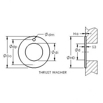 AST ASTEPBW 6290-020 plain bearings